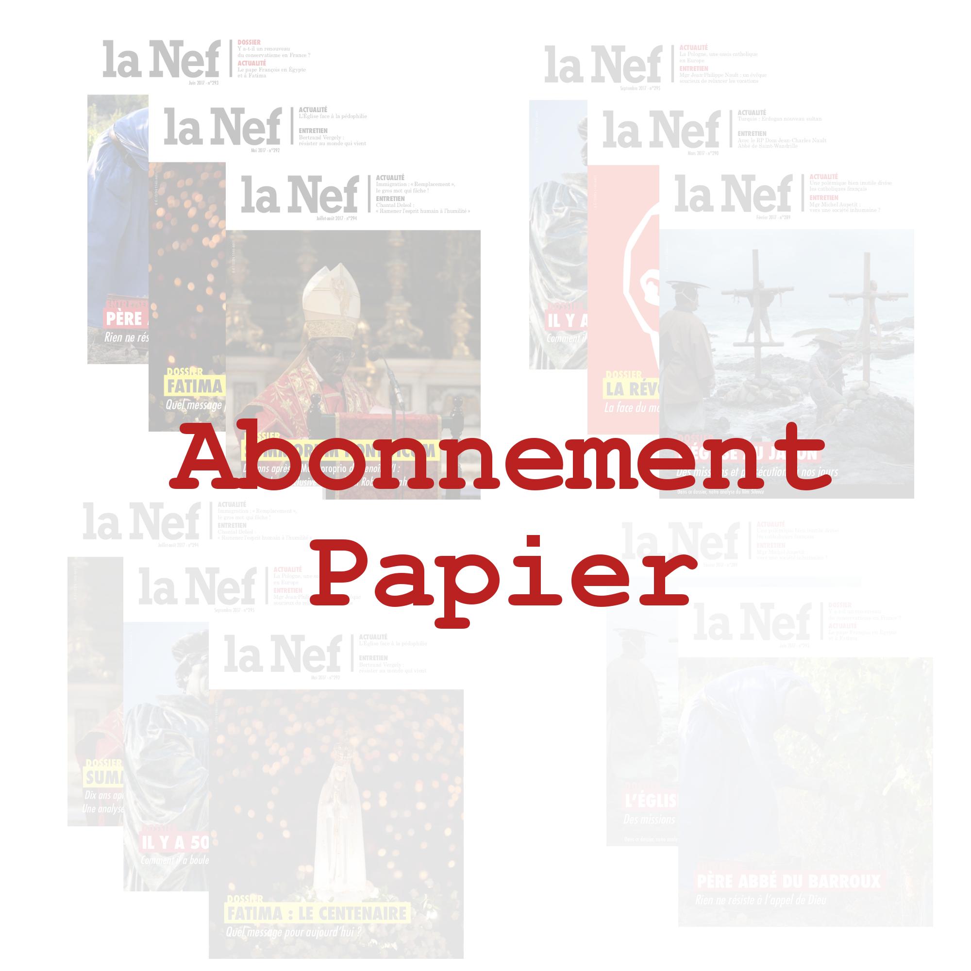 Abonnement Papier